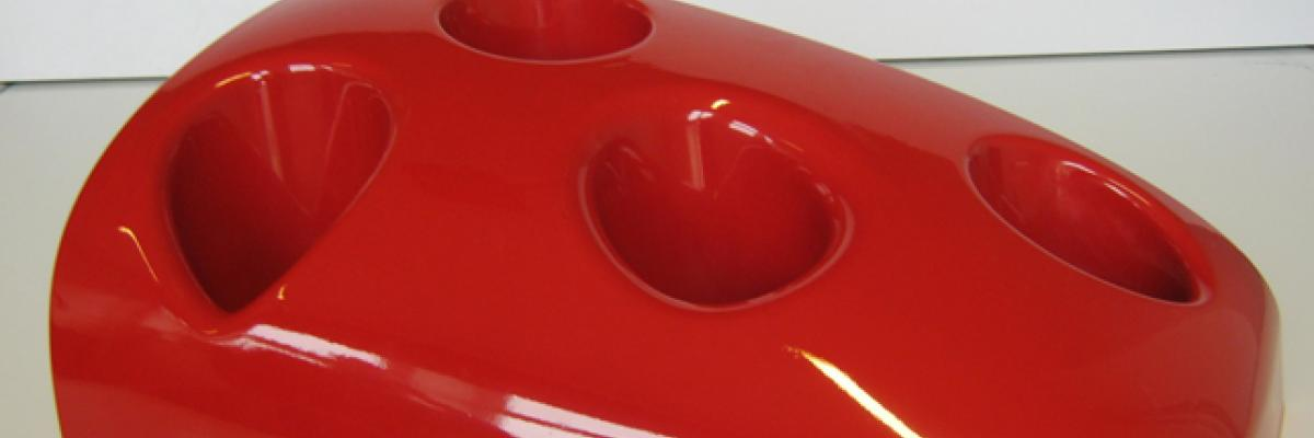 Tram nose made by RTM light with FormuLITE resin