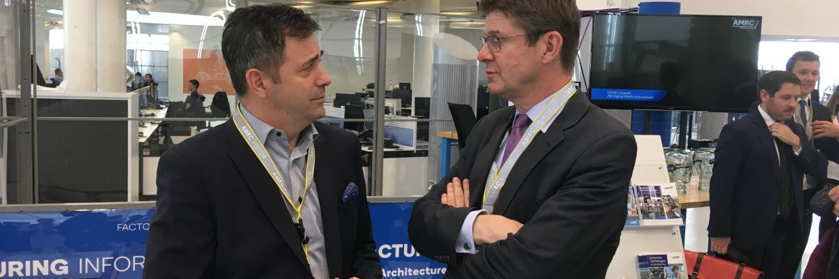 Greg Clark opens the country's first R&D test bed facility