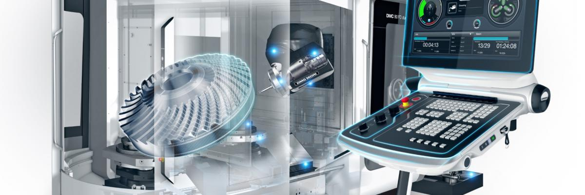 DMG Mori is currently developing advanced digital strategies to extract strategic information from next generation machine tools