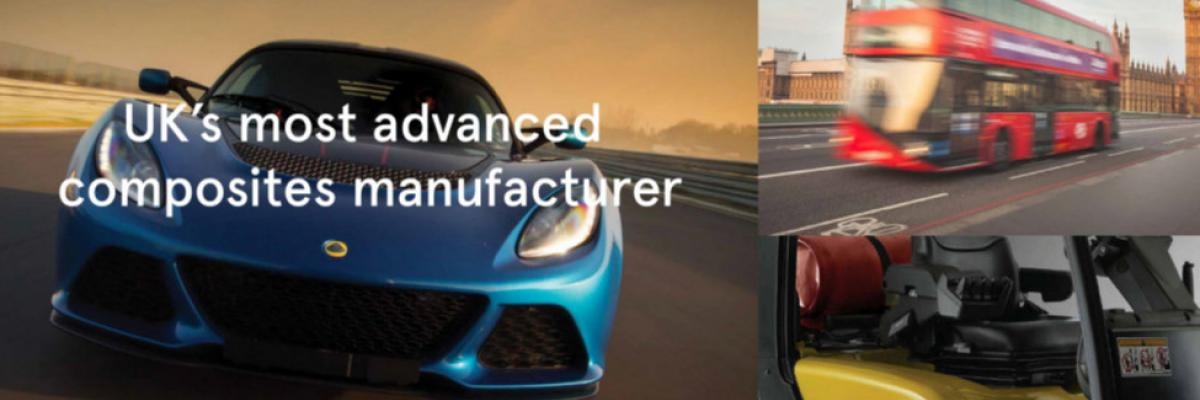 Industries Creative Composites work in - automotive, transport, rail