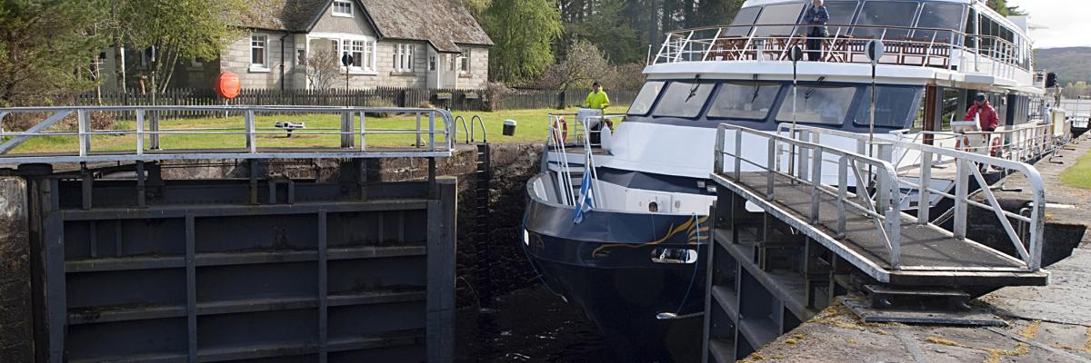 ECS Engineering Services has been awarded a contract by Scottish Canals, in order to replace four lock gates at Kytra Lock on the Caledonian Canal.