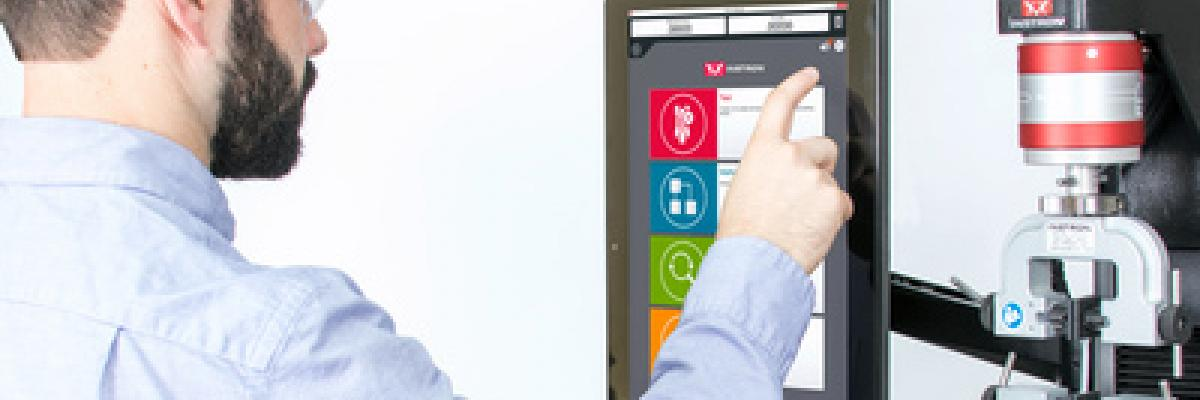 Instron Releases Bluehill Universal Software Designed for Touch