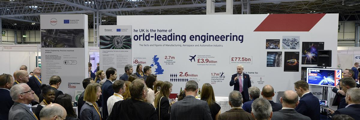 Minister Graham Stuart MP Delivers a speech at Advanced Engineering