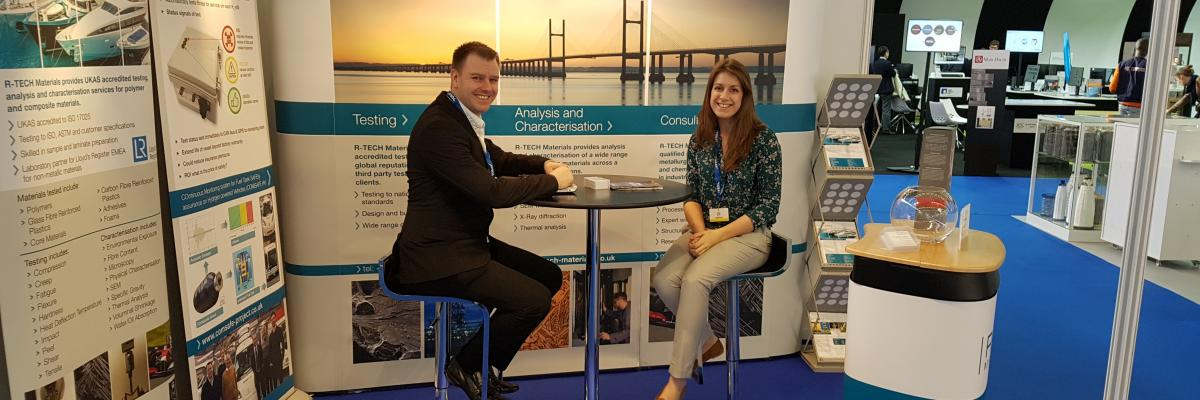 Geraint and Rebecca of R-Tech