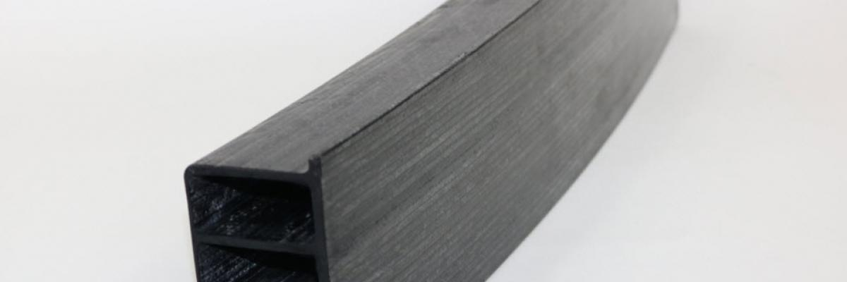 """Shape's new 'Curved Pultrusion Process for Highly Engineered Hollow Profiles' is a finalist for the 'Infinite Possibility for Market Growth"""" ACMA Awards for Composites Excellence (ACE), which is being presented during CAMX 2017"""