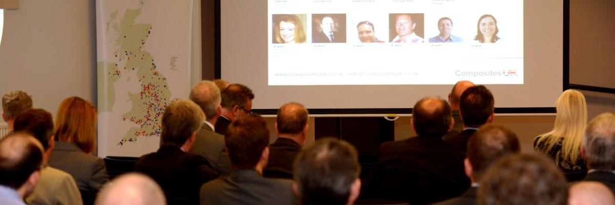 Delegates at a Composites UK event in 2016