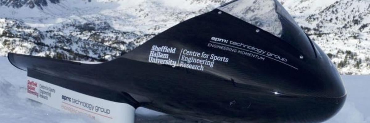 Carbon fibre sled