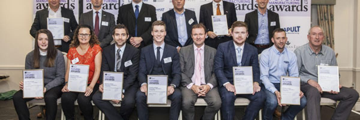 Awards Winners at the EEF Awards